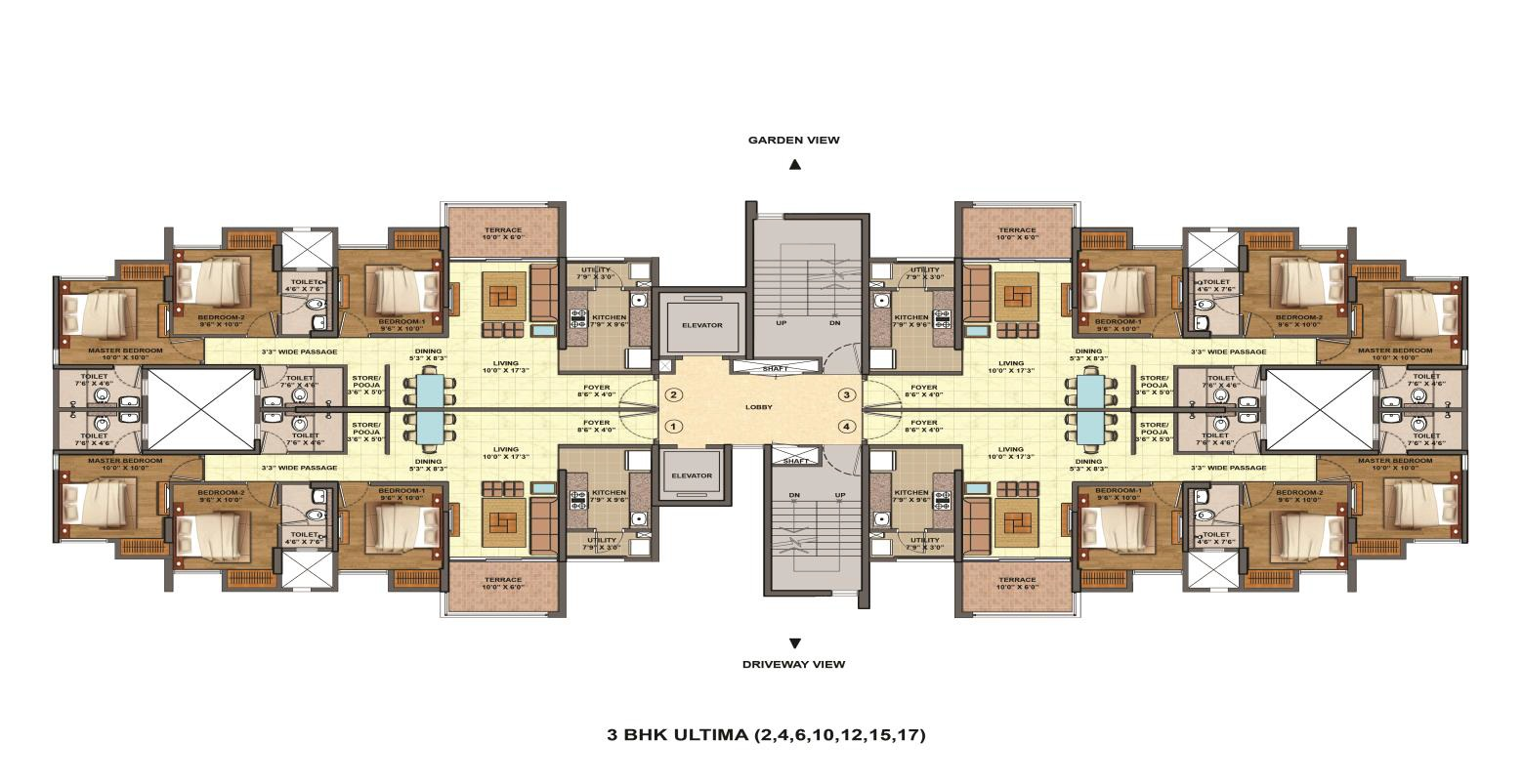 floor plans lodha palava city i am palava